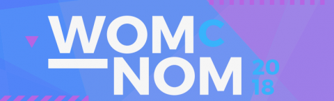 Wom-Nom Nomication logo