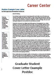 student affairs cover letters