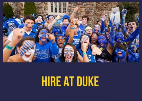 Hire at Duke