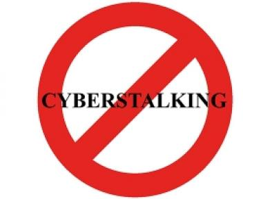 """No Cyberstalking"" sign"